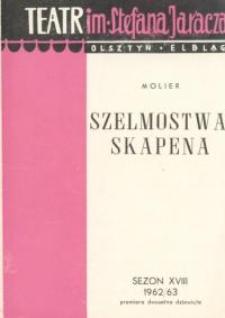 Szelmostwa Skapena - program teatralny