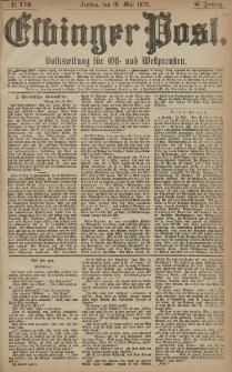Elbinger Post, Nr. 113 Freitag 16 Mai 1879, 6 Jahrg.