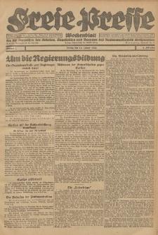 Freie Presse, Nr. 2 Freitag 14. Januar 1927 3. Jahrgang