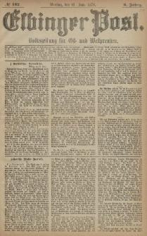 Elbinger Post, Nr. 132 Dienstag 10 Juni 1879, 6 Jahrg.