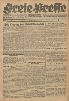 Freie Presse, Nr. 3 Freitag 21. Januar 1927 3. Jahrgang