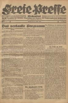 Freie Presse, Nr. 4 Freitag 28. Januar 1927 3. Jahrgang