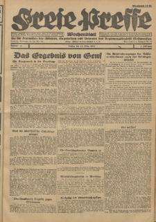 Freie Presse, Nr. 11 Freitag 18. März 1927 3. Jahrgang