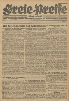 Freie Presse, Nr. 12 Freitag 25. März 1927 3. Jahrgang