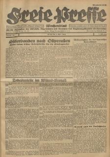 Freie Presse, Nr. 13 Freitag 1. April 1927 3. Jahrgang