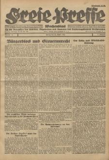 Freie Presse, Nr. 16 Freitag 22. April 1927 3. Jahrgang
