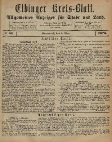 Kreis-Blatt des Königlich Preußischen Landraths-Amtes zu Elbing, Nr. 36 Sonnabend 3 Mai 1873