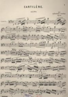 Cantiléne. Op. 84
