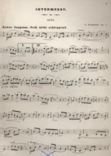Intermezzo. Op. 9