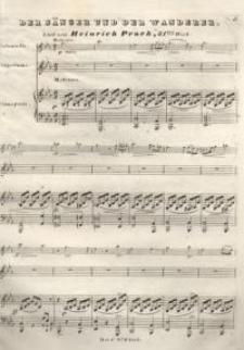 Der Sänger und der Wanderer. Op. 31