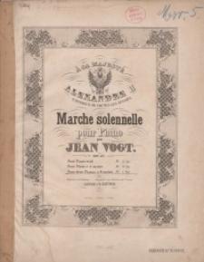 Marche solennelle pour Piano. Op. 57 : a