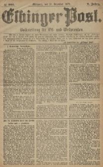 Elbinger Post, Nr. 305 Mittwoch 31 Dezember 1879, 6 Jahrg.