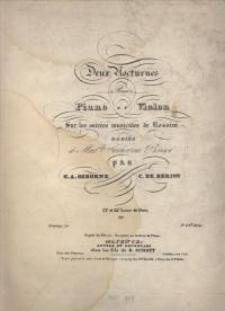 Deux Nocturnes pour Piano et Violon. No. 2.