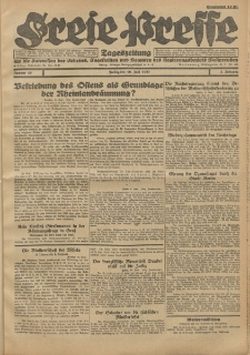 Freie Presse, Nr. 50 Freitag 10. Juni 1927 3. Jahrgang