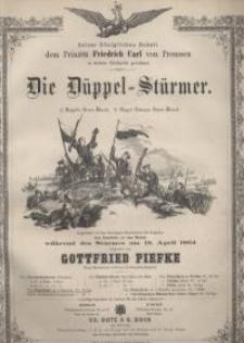 Die Düppel-Stürmer. Marsch.