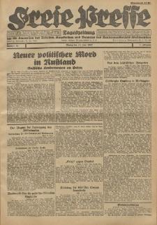 Freie Presse, Nr. 52 Montag 13. Juni 1927 3. Jahrgang