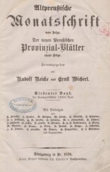 Altpreußische Monatsschrift, 1870, Bd. 7