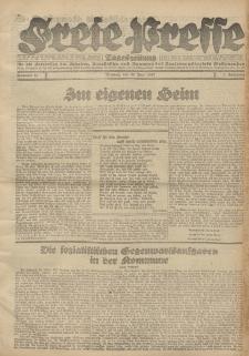 Freie Presse, Nr. 58 Montag 20. Juni 1927 3. Jahrgang