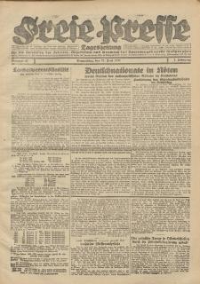 Freie Presse, Nr. 61 Donnerstag 23. Juni 1927 3. Jahrgang