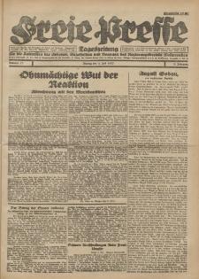 Freie Presse, Nr. 70 Montag 4. Juli 1927 3. Jahrgang