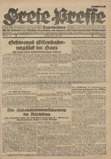 Freie Presse, Nr. 74 Freitag 8. Juli 1927 3. Jahrgang