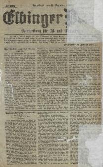 Elbinger Post, Nr. 306, Sonnabend 31 Dezember 1881, 8 Jahrg.