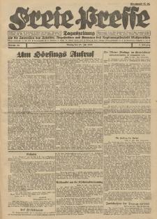 Freie Presse, Nr. 88 Montag 25. Juli 1927 3. Jahrgang