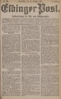 Elbinger Post, Nr. 48, Donnerstag 26 Februar 1880, 7 Jahrg.