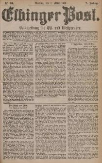 Elbinger Post, Nr. 52, Dienstag 2 März 1880, 7 Jahrg.
