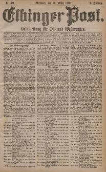 Elbinger Post, Nr. 59, Mittwoch 10 März 1880, 7 Jahrg.