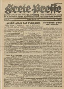 Freie Presse, Nr. 93 Sonnabend 30. Juli 1927 3. Jahrgang