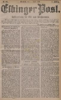 Elbinger Post, Nr. 81, Mittwoch 7 April 1880, 7 Jahrg.