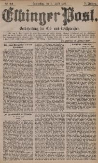 Elbinger Post, Nr. 82, Donnerstag 8 April 1880, 7 Jahrg.