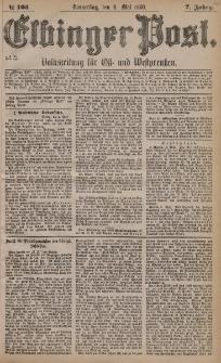 Elbinger Post, Nr. 105, Donnerstag 6 Mai 1880, 7 Jahrg.