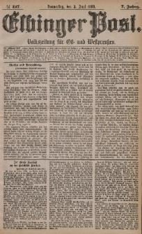 Elbinger Post, Nr. 127, Donnerstag 3 Juni 1880, 7 Jahrg.
