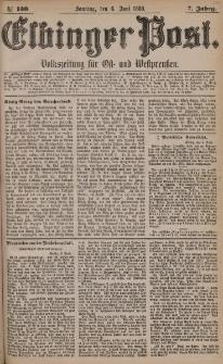 Elbinger Post, Nr. 130, Sonntag 6 Juni 1880, 7 Jahrg.