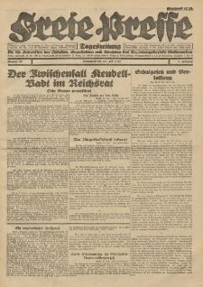 Freie Presse, Nr. 87 Sonnabend 23. Juli 1927 3. Jahrgang