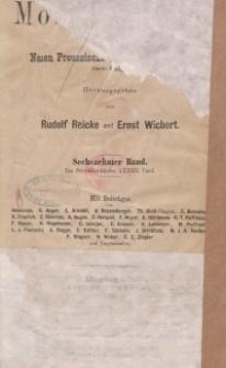Altpreussische Monatsschrift, 1879, Bd. 16