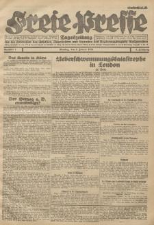 Freie Presse, Nr. 7 Montag 9. Januar 1928 4. Jahrgang