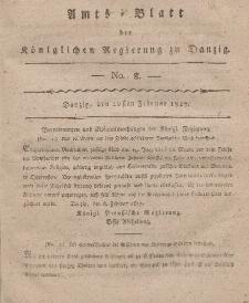 Amts-Blatt der Königlichen Regierung zu Danzig, 20. Februar 1817, Nr. 8