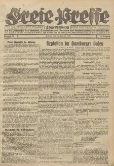 Freie Presse, Nr. 11 Freitag 13. Januar 1928 4. Jahrgang