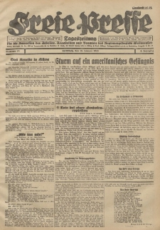 Freie Presse, Nr. 15 Mittwoch 18. Januar 1928 4. Jahrgang