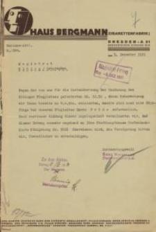 Der Magistrat der Stadt Elbing/Ostpreußen