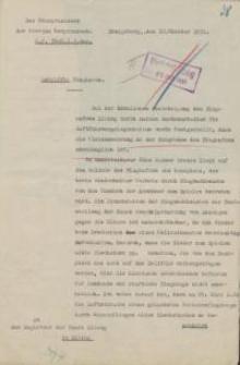 Der Oberpräsident der Provinz Ostpreußen (O.P.7880. I. 2 Ang.)