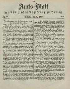Amts-Blatt der Königlichen Regierung zu Danzig, 9. März 1870, Nr. 10