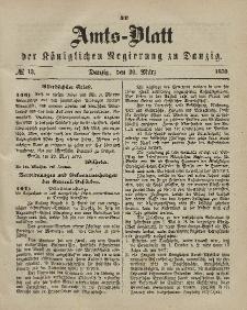 Amts-Blatt der Königlichen Regierung zu Danzig, 30. März 1870, Nr. 13