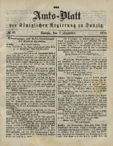 Amts-Blatt der Königlichen Regierung zu Danzig, 30. November 1870, Nr. 48