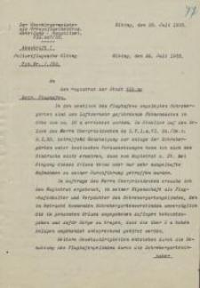 Der Oberbürgermeister (VI a. 447/33)