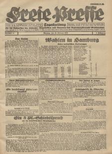 Freie Presse, Nr. 43 Montag 20. Februar 1928 4. Jahrgang
