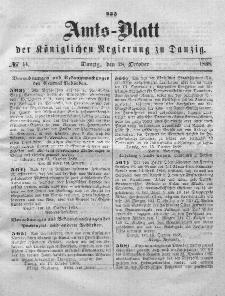 Amts-Blatt der Königlichen Regierung zu Danzig, 28. Oktober 1868, Nr. 44